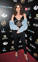 Imogen Thomas at the Ultimate Boxxer III professional boxing tournament, indigO2 at The O2, Millennium Way, Greenwich, London, England, UK, on Friday 10th May 2019.<br /> CAP/CAN<br /> &copy;CAN/Capital Pictures