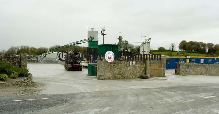 A view  the entrance to Mc Grath Quarries. Photograph by John Kelly.