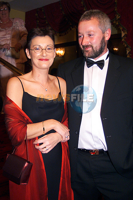 Franices and Daved Ryan at The Hollywood Ball in The Boyne Valley Hotel...Pic Newsfile