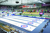 2017, PyeongChang, South Korea;  The curling venue at Gangneung Ice Rink in Pyeongchang, Gangwon province, South Korea. The International Olympic Committee carried out on-site inspection of the area in mid-February 2011 following the city's bid to host the 2018 Winter Games.