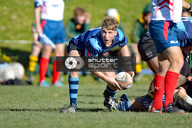 NELSON, NEW ZEALAND - JUNE 10: Mascar Cup Nelson College v Rangiora High, Nelson College, June 10, 2017, Nelson, New Zealand. (Photo by: Barry Whitnall Shuttersport Limited)