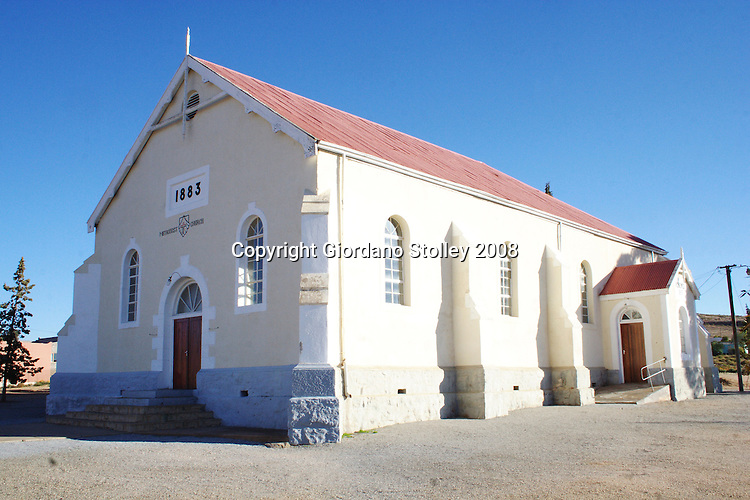 OKIEP, NORTHERN CAPE - As copper mining boomed in Namaqualand in the late 1800s, the influx of miners, especially from Cornwall, was followed by the respective churches, including the Methodists who built this church in 1883..Picture: Giordano Stolley/Allied Picture Press/APP