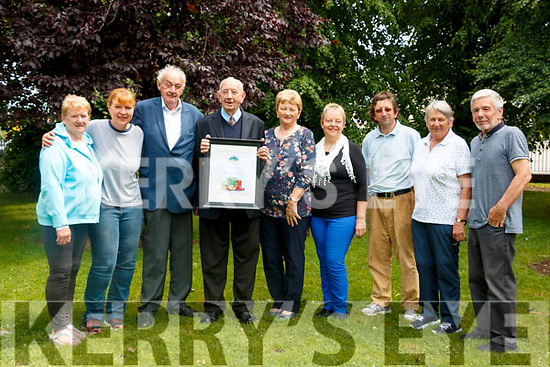 Kenmare was crowned Ireland's Best-Kept Small Town in Ireland, from left: Honor Fitzgerald, Dagmar Kunze, Micheal Connor – Scarteen, , John O' Sullivan PO, Elearon Connor – Scarteen, Maureen Finnegan, Noel Crowley, Eileen Daly, John O' Neill,