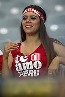 Action photo during the match Ecuador vs Peru at University of Phoenix Stadium Copa America Centenario 2016. ---Foto  de accion durante el partido Ecuador vs Peru, En el Estadio de la Universidad de Phoenix, Partido Correspondiante al Grupo - B -  de la Copa America Centenario USA 2016, en la foto: Fans<br /> --- 08/06/2016/MEXSPORT/Osvaldo Aguilar.