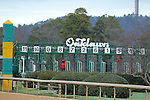 January 18, 2016: Scenery at Oaklawn Park in Hot Springs, AR. Justin Manning/ESW/CSM