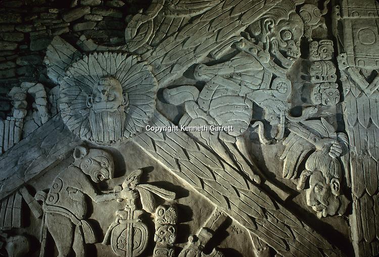 Maya, Tonina, Mexico, Chiapas, Death God, Turtle Foot, Head, severed, war, warfare