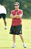 Ashburm, VA - August 6, 2009 -- Washington Redskins owner Daniel Snyder watches his team work-out during the 2009 Washington Redskins Training Camp at Redskins Park in Ashburn, Virginia on Thursday, August 6, 2009..Credit: Ron Sachs / CNP