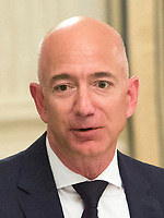 Amazon CEO Jeff Bezos speaks during an American Technology Council roundtable with corporate and eduction leaders  at The White House in Washington, DC, June 19, 2017. <br /> Credit: Chris Kleponis / CNP /MediaPunch