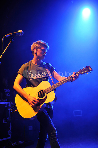 LONDON, ENGLAND - SEPTEMBER 1: George Smith of 'New Hope Club' performing at Shepherd's Bush Empire on September 1, 2016 in London, England.<br /> CAP/MAR<br /> &copy;MAR/Capital Pictures /MediaPunch ***NORTH AND SOUTH AMERICAS ONLY***