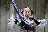 Sylvanas Windrunner World of Warcraft Cosplay, Emerald City Comicon 2017, Seattle, WA, USA.
