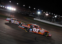 Apr 22, 2006; Phoenix, AZ, USA; Nascar Nextel Cup driver Clint Bowyer of the (07) Sylvania/Jack Daniels Chevrolet Monte Carlo during the Subway Fresh 500 at Phoenix International Raceway. Mandatory Credit: Mark J. Rebilas-US PRESSWIRE Copyright © 2006 Mark J. Rebilas.
