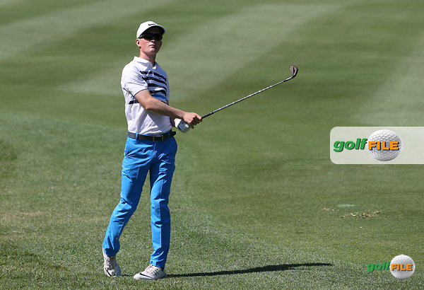 Marcus Kinhult (SWE)  during Round One of the 2016 Tshwane Open, played at the Pretoria Country Club, Waterkloof, Pretoria, South Africa.  11/02/2016. Picture: Golffile | David Lloyd<br /> <br /> All photos usage must carry mandatory copyright credit (&copy; Golffile | David Lloyd)