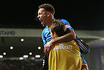 James Tavernier celebrates his second of the night