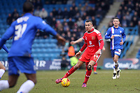 Dele Alli of MK Dons in action during Gillingham vs MK Dons, Sky Bet League One Football at the MEMS Priestfield Stadium on 14th February 2015
