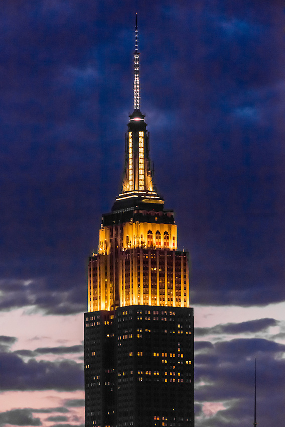 Empire State Building, New York New York USA.
