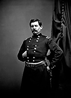Gen George B. McClellan, ca.  1863. Mathew Brady Collection.  (Army)<br /> Exact Date Shot Unknown