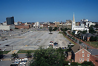 1996 June 26..Redevelopment..Macarthur Center.Downtown North (R-8)..FROM ROTUNDA BUILDING.LOOKING WEST..NEG#.NRHA#..