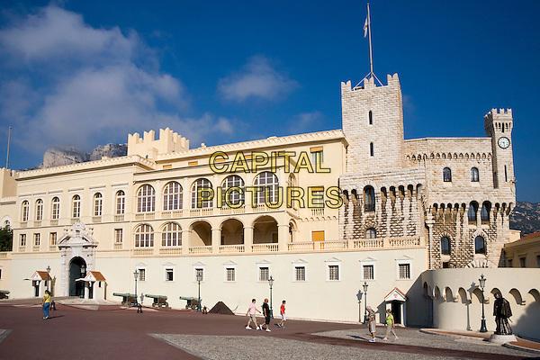 Prince?s Palace, Palais Princier, Monaco-Ville, Monaco, France