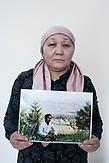Kulyash Baykery has lived with her husband in Kazakhstan since 1999. When her husband travelled to China in April 2018, he was accused of collecting donations for the construction of a mosque in China. He was taken to a re-education camp. The couple had no contact since his arrest.<br /> <br /> Kulyash Baykery lebte seit 1999 mit ihrem Ehemann in Kasachstan. Als ihr Mann im April 2018 nach China reiste, wurde ihm an der Grenze vorgeworfen, Spendengelder für den Bau einer Moschee in China zu sammeln. Er wurde in ein Umerziehungslager gebracht. Seit seiner Inhaftierung haben die beiden keinen Kontakt mehr.