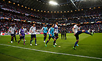 Manchester United players warm up before the UEFA Europa League Final match at the Friends Arena, Stockholm. Picture date: May 24th, 2017.Picture credit should read: Matt McNulty/Sportimage