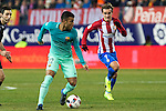 FC Barcelona's midfielder Rafinha Alcantara in action  during the match of Copa del Rey between Atletico de  Madrid and Futbol Club Barcelona at Vicente Calderon Stadium in Madrid, Spain. February 1st 2017. (ALTERPHOTOS/Rodrigo Jimenez)