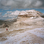 Passo Pordoi in the Italian Alps, ITALY