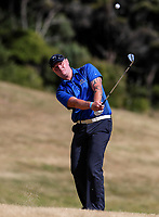 Karl Knedler of Bay of Plenty. Day One of the Toro Interprovincial Men's Championship, Mangawhai Golf Club, Mangawhai,  New Zealand. Tuesday 5 December 2017. Photo: Simon Watts/www.bwmedia.co.nz