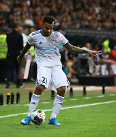 Kenny Lala (Racing Club de Strasbourg Alsace) - 29.08.2019: Eintracht Frankfurt vs. Racing Straßburg, UEFA Europa League, Qualifikation, Commerzbank Arena<br /> DISCLAIMER: DFL regulations prohibit any use of photographs as image sequences and/or quasi-video.