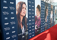"NORTH HOLLYWOOD, CA - APRIL 19: For Your Consideration Red Carpet event for FX's ""Better Things"" at the Wolf Theatre at Saban Media Center on April 19, 2018 in North Hollywood, California. (Photo by Frank Micelotta/FX/PictureGroup)"