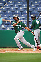 Daytona Tortugas designated hitter Ty Washington (3) bats during a game against the Clearwater Threshers on April 20, 2016 at Bright House Field in Clearwater, Florida.  Clearwater defeated Daytona 4-2.  (Mike Janes/Four Seam Images)