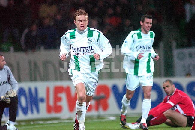 groningen - psv 01-02-2006 kwartfinale gastorade cup seizoen 2005-2006 nevland na de 1-3