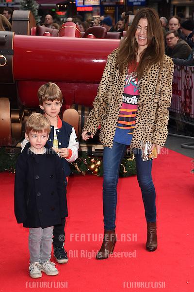 "Sara MacDonald arrives for the ""Get Santa"" premiere, Vue Leicester Square, London. 30/11/2014 Picture by: Steve Vas / Featureflash"