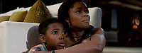 BREAKING IN (2018)<br /> SETH CARR, GABRIELLE UNION<br /> *Filmstill - Editorial Use Only*<br /> CAP/FB<br /> Image supplied by Capital Pictures