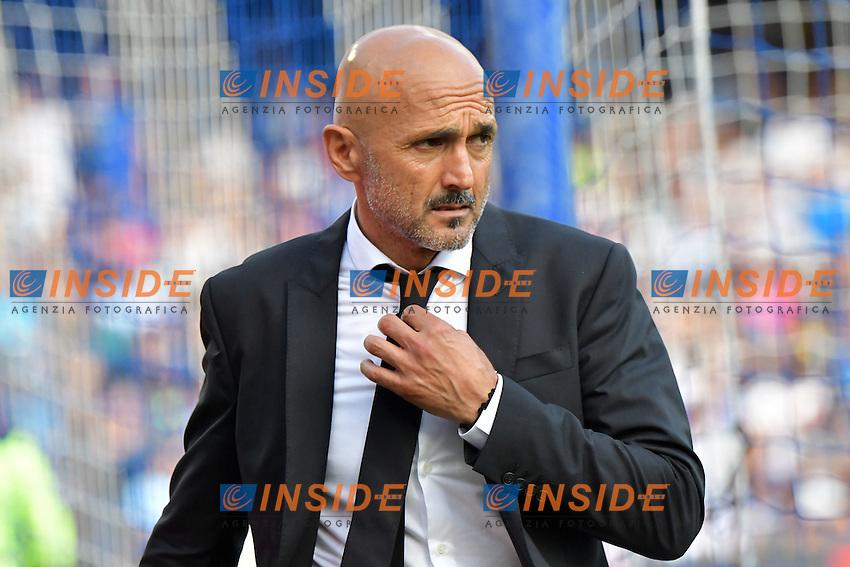 Luciano Spalletti Roma <br /> Napoli 15-10-2016  Stadio San Paolo <br /> Football Calcio Campionato Serie A Napoli - AS Roma <br /> Foto Andrea Staccioli / Insidefoto