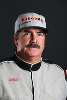 Mar. 21, 2014; Chandler, AZ, USA; LOORRS pro buggy driver Eddie Tafoya poses for a portrait prior to round one at Wild Horse Motorsports Park. Mandatory Credit: Mark J. Rebilas-USA TODAY Sports