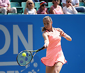 June 15th 2017, Nottingham, England; WTA Aegon Nottingham Open Tennis Tournament day 6;  Magdalena Rybarikova of The Slovak Republic in action on centre court