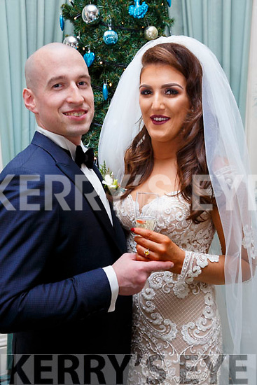 Kinahan/O'Brien wedding in Ballyseede Castle Hotel on New Years Eve.
