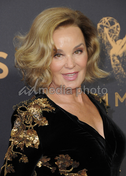 17 September  2017 - Los Angeles, California - Jessica Lange. 69th Annual Primetime Emmy Awards - Arrivals held at Microsoft Theater in Los Angeles. Photo Credit: Birdie Thompson/AdMedia