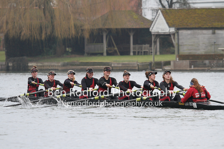 Crew: 42 - Bristol Univ  - W.IM3.8+ <br /> <br /> Henley Fours &amp; Eights Head 2017<br /> <br /> To purchase this photo, or to see pricing information for Prints and Downloads, click the blue 'Add to Cart' button at the top-right of the page.