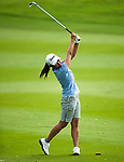 CHON BURI, THAILAND - FEBRUARY 16:  Ai Miyazato of Japan plays a shoot on the 18th hole during day one of the LPGA Thailand at Siam Country Club on February 16, 2012 in Chon Buri, Thailand.  Photo by Victor Fraile / The Power of Sport Images