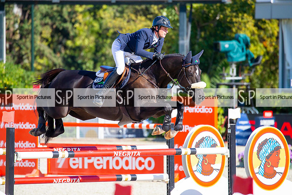 2nd place. Darragh Kenny  riding Extra Van Essene. IRL. Negrita Cup. Longines FEI Jumping Nations Cup Final. Showjumping. Barcelona. Spain. Day 1.05/10/2018. ~ MANDATORY Credit Elli Birch/Sportinpictures - NO UNAUTHORISED USE - 07837 394578