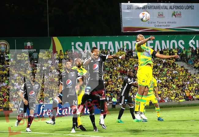 Millonarios venció como visitante 3-1 a Rionegro Águilas. Fecha 3 Liga Águila II-2017.