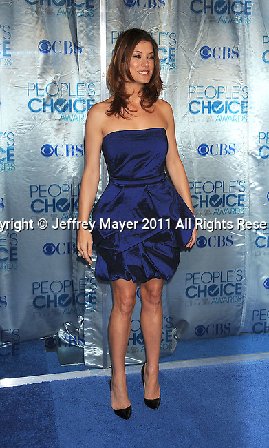 LOS ANGELES, CA. - January 05: Kate Walsh arrives at the 2011 People's Choice Awards at Nokia Theatre L.A. Live on January 5, 2011 in Los Angeles, California.