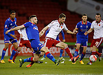 Chris Basham of Sheffield Utd - FA Cup Second round - Sheffield Utd vs Oldham Athletic - Bramall Lane Stadium - Sheffield - England - 5th December 2015 - Picture Simon Bellis/Sportimage
