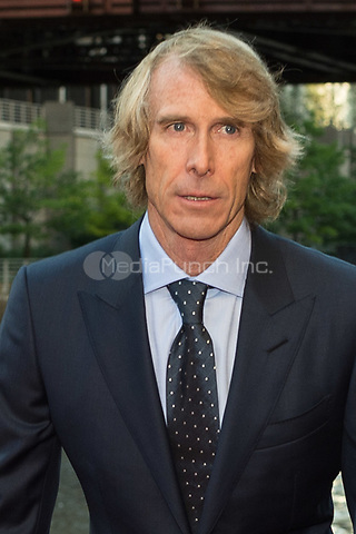 "CHICAGO, IL - JUNE 20: Director and Executive Producer Michael Bay at the U.S. Premiere of Michael Bay's ""Transformers: The Last Knight"" at the Civic Opera House in Chicago, Illinois on June 20, 2017: Credit: Cindy Barrymore/MediaPunch"