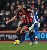 Brighton & Hove Albion's Yves Bissouma (right) battles with Bournemouth's Andrew Surman (left) <br /> <br /> Photographer David Horton/CameraSport<br /> <br /> The Premier League - Bournemouth v Brighton and Hove Albion - Saturday 22nd December 2018 - Vitality Stadium - Bournemouth<br /> <br /> World Copyright © 2018 CameraSport. All rights reserved. 43 Linden Ave. Countesthorpe. Leicester. England. LE8 5PG - Tel: +44 (0) 116 277 4147 - admin@camerasport.com - www.camerasport.com