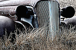 Gritty American car in Bodie California