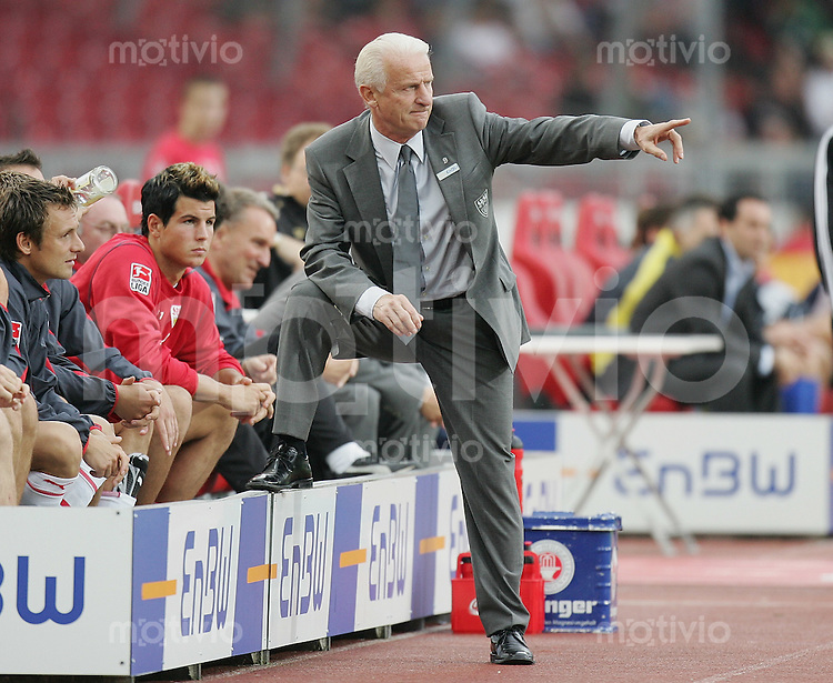 Fussball International UEFA Cup 2005/2006 VfB Stuttgart - NK Domzale VfB Trainer Giovanni Trapattoni