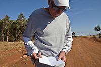 Renato Canova coaches elite Kenyan runners in the high altitude town of Iten, Kenya.