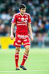 Stockholm 2014-04-14 Fotboll Superettan Hammarby IF - Degerfors IF :  <br /> Degerfors Ferhad Ayaz<br /> (Foto: Kenta J&ouml;nsson) Nyckelord:  HIF Bajen Degerfors  portr&auml;tt portrait
